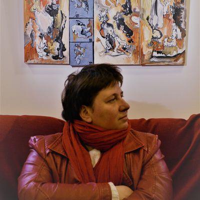 Françoise Segonds artiste en mouvement à Cordes sur Ciel