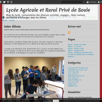 Lycée Agricole et Rural Privé de Soule