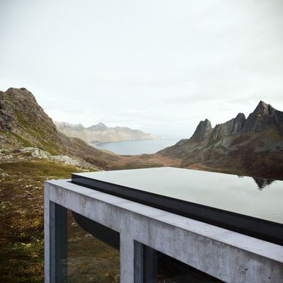 Northern Norway Infinity House by Vladimir Konovalov