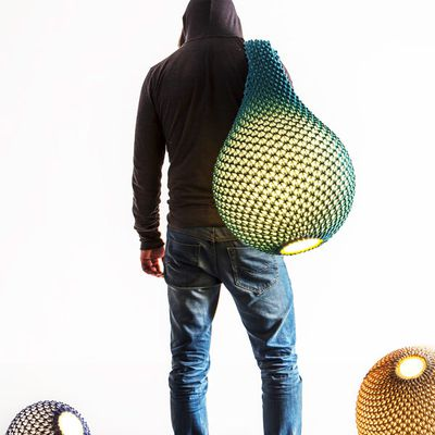 Knitted by collaboration between Oded Sapir and Ariel Zuckerman