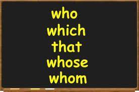 Relative Clauses: Pronouns