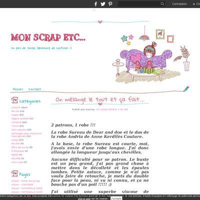 MON SCRAP ETC...