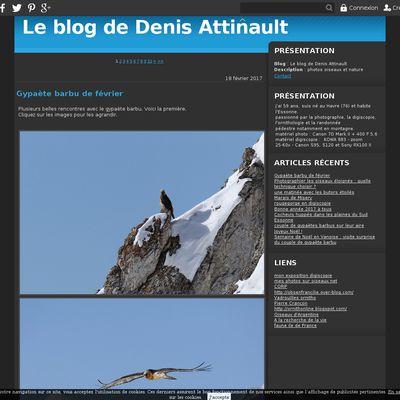 Le blog de Denis Attinault