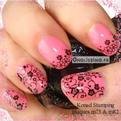 Nail Art Stamping by Konad Onglissimo France