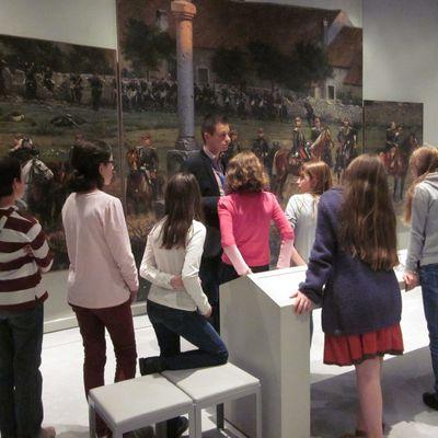 Semaine des enfants au Musée départemental de la Guerre de 1870 en août