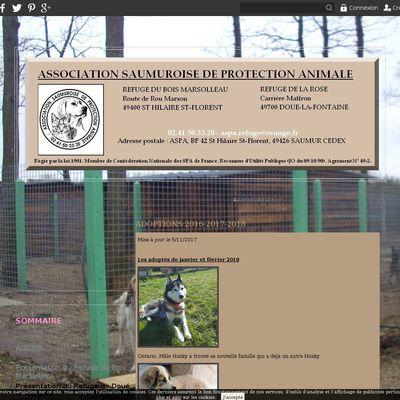 le blog refuge-animaux-saumur-doue