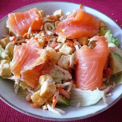 ... Salade fraicheur marine ...