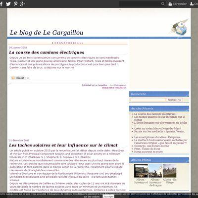 Le blog de Le Gargaillou