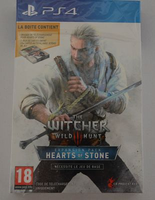 [Déballage] The Witcher III Heart of Stone Edition collector