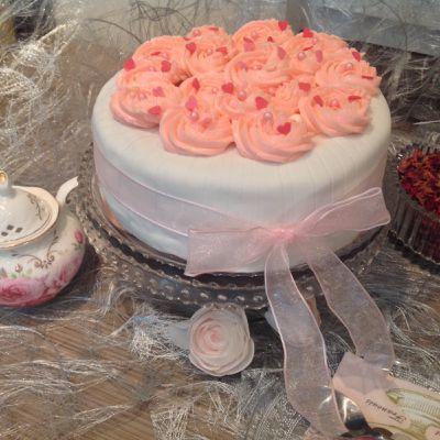 Octobre Rose, gâteau rose et Molly cake