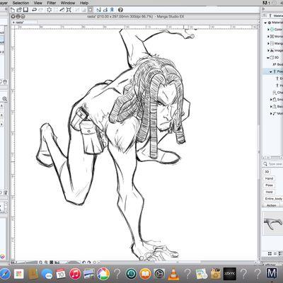 Rasta sketch pt1