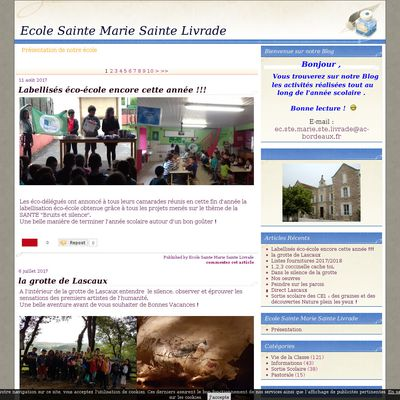 Ecole Sainte Marie Sainte Livrade