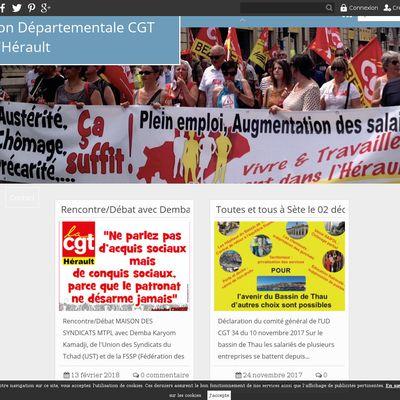 Union Départementale CGT de l'Hérault