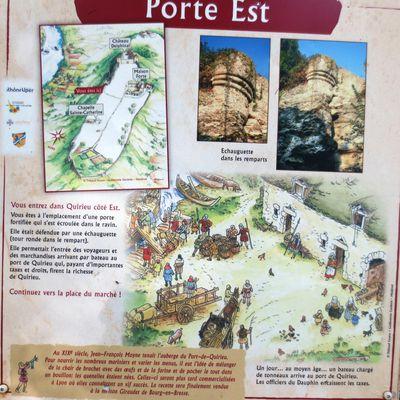 QUIRIEU - Village médiéval - château delphinal