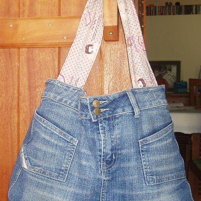 Mon sac en jean!