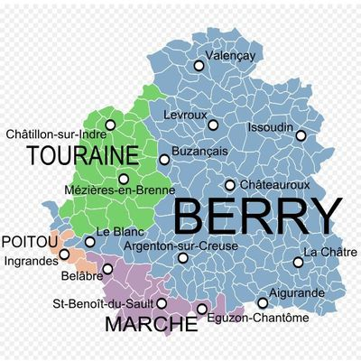 Chatillon sur Indre.Berry ou Touraine