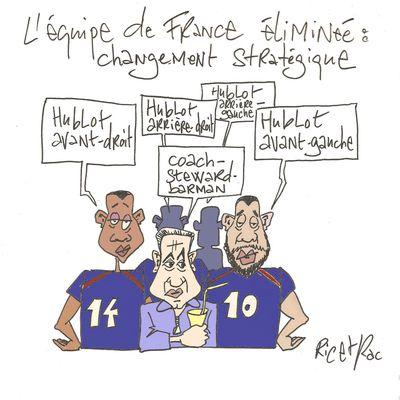 L'équipe de France éliminée...