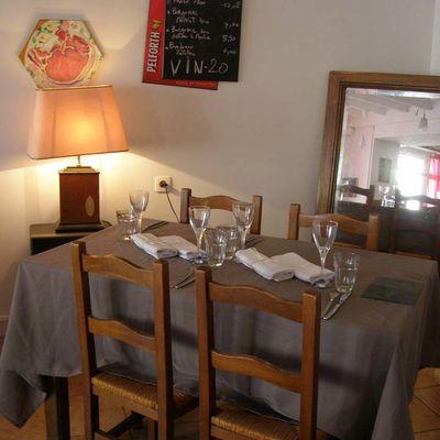Restaurant le Temps des Cerises Villefranche de Lonchat 24610 Dordogne