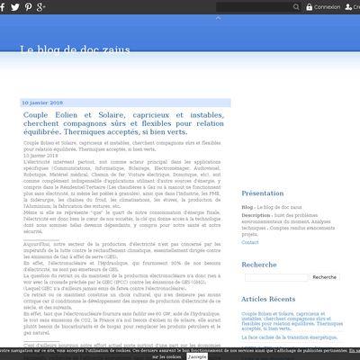 Le blog de doc zaius