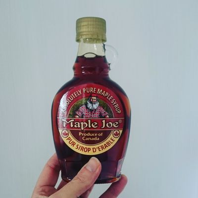 Le sirop d'érable Maple Joe ;)