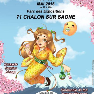 Sortie Salon Asian Expo 14 mai 2016