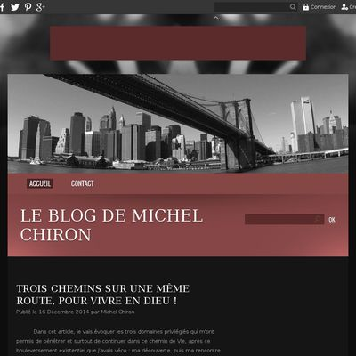 Le blog de Michel Chiron