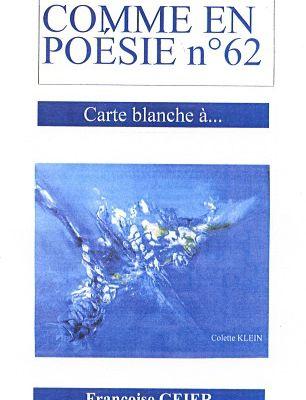 comme en poésie 62