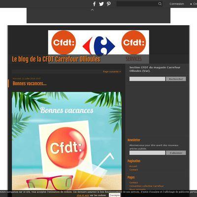 Le blog de la CFDT Carrefour Ollioules