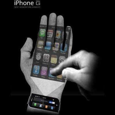 Un iPhone nel palmo della mano...