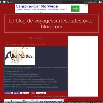 Le blog de voyagessurlesondes.over-blog.com