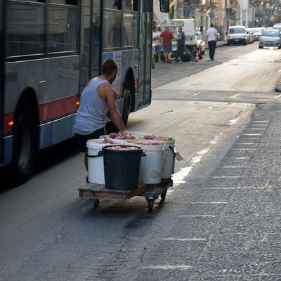 Mercato a Catania.