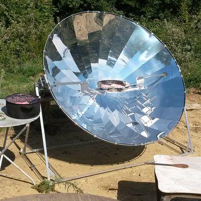 Cuiseur solaire et prochains évènements