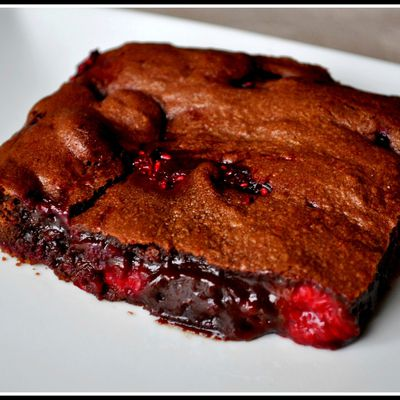 BROWNIE A LA FRAMBOISE