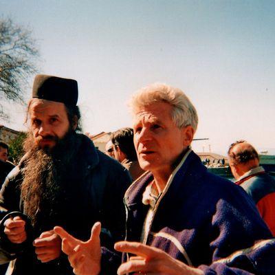 Voyage à l'Athos en 2000