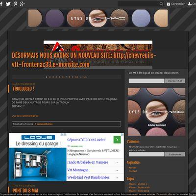 DÉSORMAIS NOUS AVONS UN NOUVEAU SITE: http://chevreuils-vtt-frontenac33.e-monsite.com