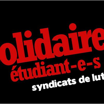 Solidaires Etudiant-es Paris 8 - Saint Denis, syndicat de luttes