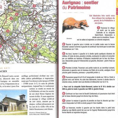 Sentier du patrimoine à Aurignac