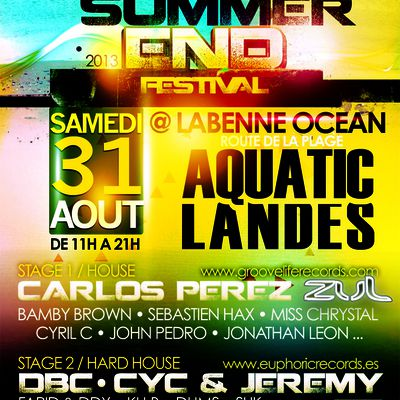 Sound Makers @ Summer End Festival (Aquatic Landes/40)