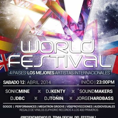 Sound Makers @ World Festival (Sala Groove/Madrid)