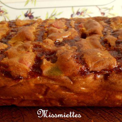 Cake aux 3 poivrons et knakis