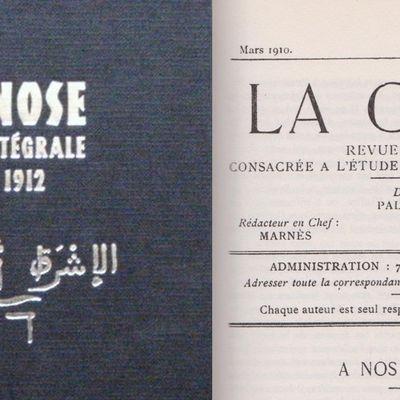 La Gnose, première année – «A NOS LECTEURS»