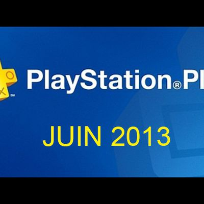 Playstation plus : Juin 2013