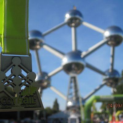 Jogging : 2016 : Eco Trail Bruxelles : 9,7 kilomètres