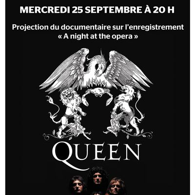 "Documentaire sur ""A night at the opera"" de Queen"