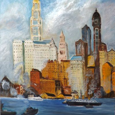 ''EAST RIVER 1920''