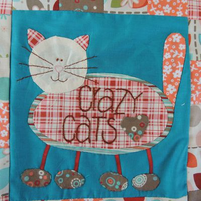 Patch Crazy Cats -11