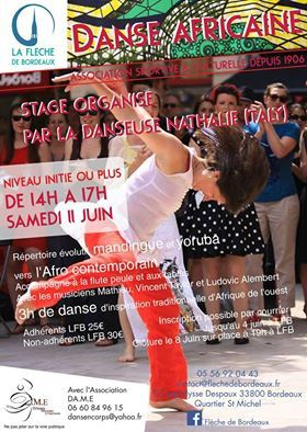 stage danse africaine/ afro-contemporaine
