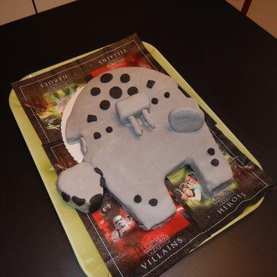 Gâteau Faucon Millénium-STAR WARS