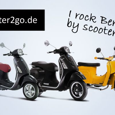 ...zu scooter2go - Cruisin' durch Berlin""