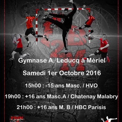 Week-end du 1 / 2 Octobre 2016